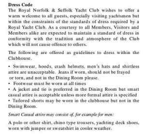 66 Yacht Club Rules