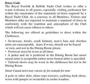 66 Yacht Club Rules
