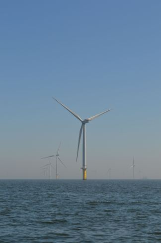 The English Channel Windfarms