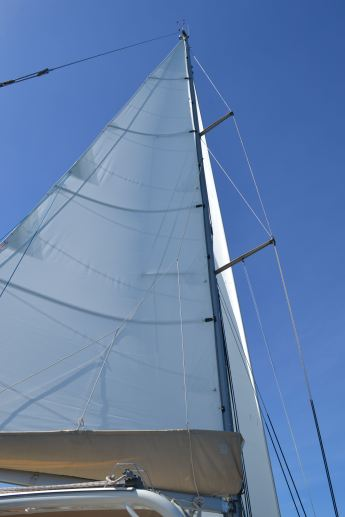 The new main sail