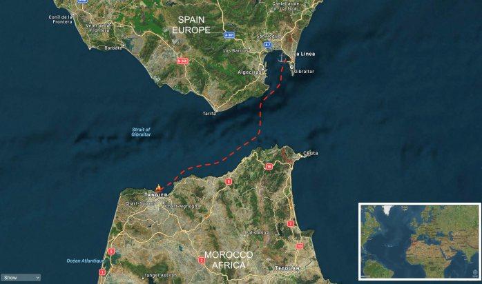 Tangier to La Linea